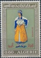 Algeria 1972 Regional Costumes (2nd Issue) b