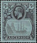 Ascension 1924 Seal of the Colony la