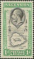 Ascension 1934 George V and Sights of Ascension ba