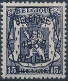 Belgium 1938 Coat of Arms - Precancel (6th Group) a
