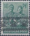 British and American Zone 1948 Overprinted with Posthorn Ribbon g