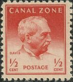 Canal Zone 1948 Famous People a