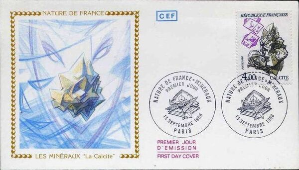 France 1986 Minerals FDCo