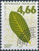 France 1996 Leaves - Precanceled c