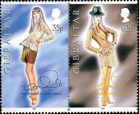 Gibraltar 1997 Dior Fashion Designs by John Galiano f