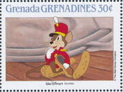 Grenada Grenadines 1988 The Disney Animal Stories in Postage Stamps 4d