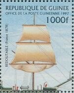 Guinea 1997 19th Century Warships g