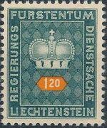 Liechtenstein 1950 Crown j