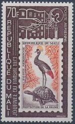 Mali 1973 Stamp Day a