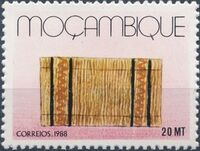 Mozambique 1988 Basketry - Local Crafts a