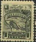 Nicaragua 1896 Map of Nicaragua g