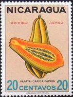 Nicaragua 1968 Fruits d