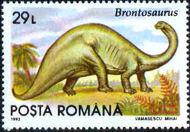Romania 1993 Dinosaurs a