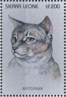 Sierra Leone 1996 Cats of the World e