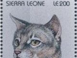Sierra Leone 1996 Cats of the World