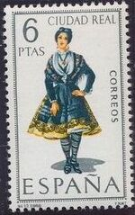 Spain 1968 Regional Costumes Issue a