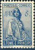 St Thomas and Prince 1934 Ceres - New Values o