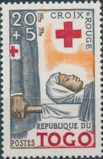 Togo 1959 100th Anniversary of International Red Cross a