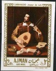 Ajman 1968 Paintings t