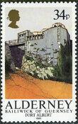 Alderney 1986 Alderney Forts d