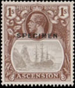 Ascension 1924 Seal of the Colony v
