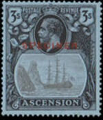 Ascension 1924 Seal of the Colony x
