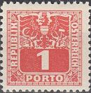 Austria 1945 Coat of Arms and Digit a