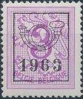 Belgium 1963 Heraldic Lion with Precancellations b