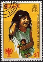 Belize 1980 International Year of the Child d