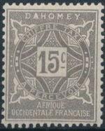 Dahomey 1914 Numerals c