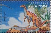 Gabon 1995 Prehistoric Wildlife o