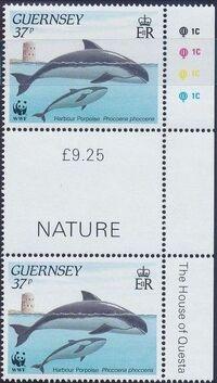 Guernsey 1990 WWF Marine Life n