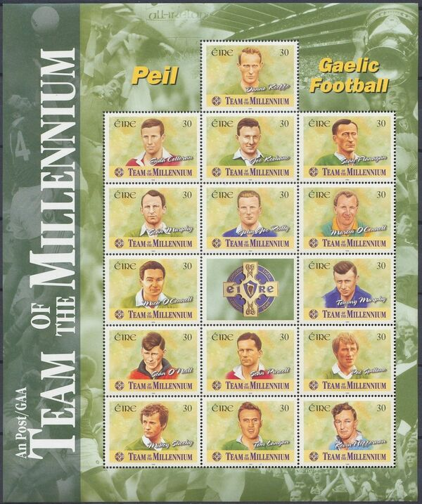 Ireland 1999 Gaelic Football Team of the Millennium w