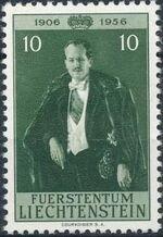 Liechtenstein 1956 50th Birthday of Prince Franz Joseph II a