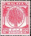 Malaya-Kedah 1952 Definitives (New values) c