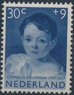 Netherlands 1957 Child Welfare Surtax - Girls' Portraits e