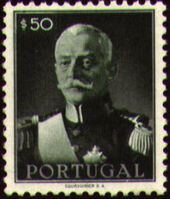 Portugal 1945 President Carmona d