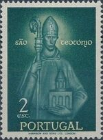 Portugal 1958 Queen St. Isabella and St. Theotonius b