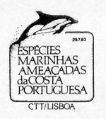 Portugal 1983 Brasiliana 83 - International Stamp Exhibition - Marine Mammals k