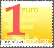 Portugal 2002 Euro Coins (Postage Due Stamps) g