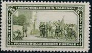 San Marino 1932 50th Anniversary of Giuseppe Garibaldi Death h