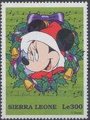 Sierra Leone 1997 Disney Christmas Stamps d