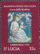 St Lucia 1970 Christmas c