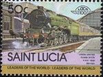 St Lucia 1983 Leaders of the World - LOCO 100 n