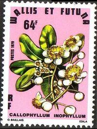 Wallis and Futuna 1979 Exotic Flowers b