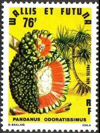 Wallis and Futuna 1979 Exotic Flowers c