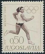 Yugoslavia 1968 19th Olympic Games, Mexico City a