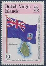 British Virgin Islands 1987 11th Meeting of the Organization of Eastern Caribbean States a