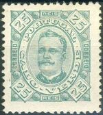 Cape Verde 1893-1895 Carlos I of Portugal f