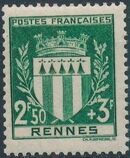 France 1941 Coat of Arms (Semi-Postal Stamps) i